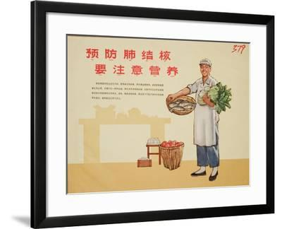 Restaurant Cleanliness Is Essential--Framed Art Print