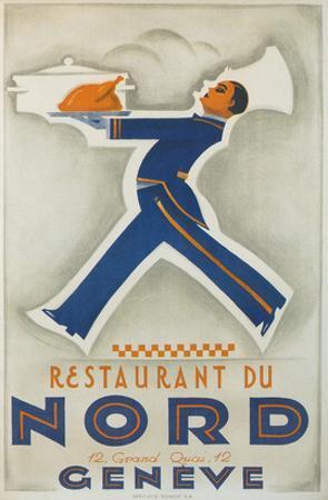 Restaurant Du Nord. Geneve, Switzerland