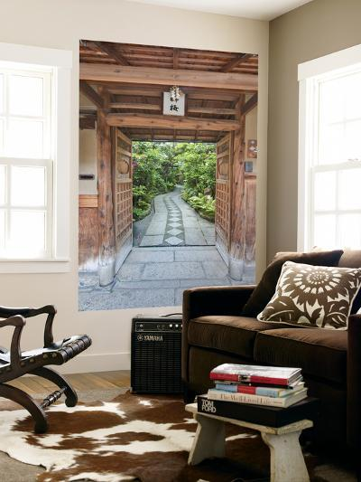 Restaurant Entrance at Gion, Kyoto, Japan-Rob Tilley-Giant Art Print