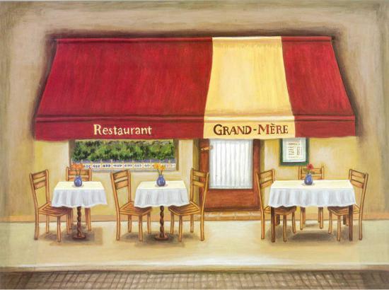 Restaurant Grand-Mere-Urpina-Art Print