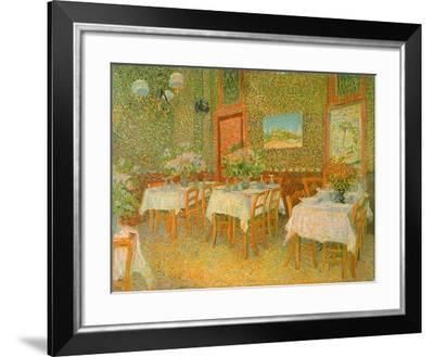 Restaurant Interior, 1887-Vincent van Gogh-Framed Giclee Print