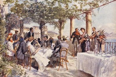 Restaurant Musicians, 1933, Italy--Giclee Print