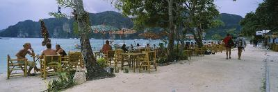 Restaurant on the Beach, Ko Phi Phi Don, Phi Phi Islands, Thailand--Photographic Print