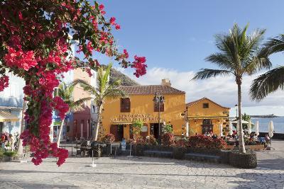 Restaurant Taberna Del Puerto, Puerto De Tazacorte, La Palma, Canary Islands, Spain, Europe-Markus Lange-Photographic Print