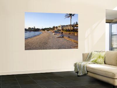 Restaurants and Upturned Boats Laying Along Promenade at Watsons Bay-Oliver Strewe-Wall Mural