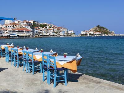 Restaurants on Harbour, Kokkari, Samos, Aegean Islands, Greece-Stuart Black-Photographic Print