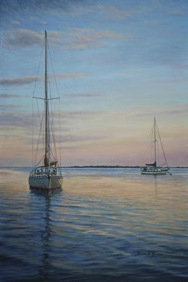 Restful Sails-Bruce Dumas-Giclee Print