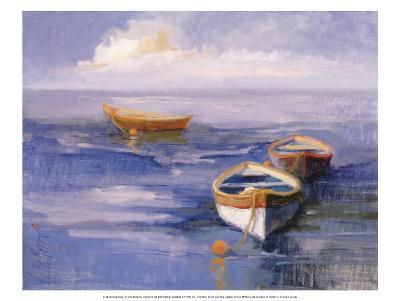Resting Boats-Vicki Mcmurry-Art Print