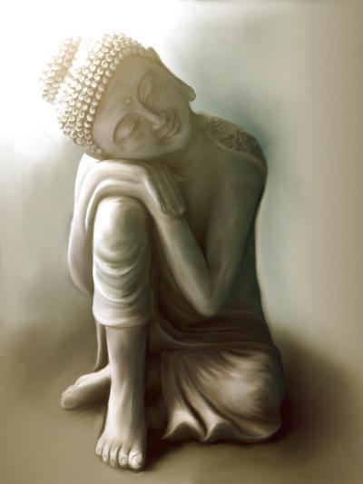 Resting Buddha-Christine Ganz-Art Print