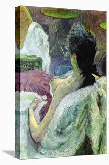 Resting Model-Henri de Toulouse-Lautrec-Stretched Canvas Print