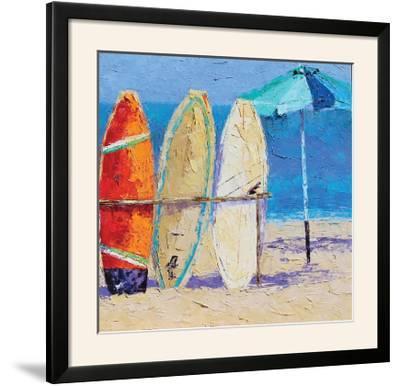 Resting on the Beach II-Leslie Saeta-Framed Photographic Print