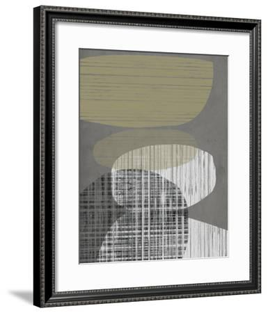 Resting Shapes III-Jennifer Goldberger-Framed Giclee Print