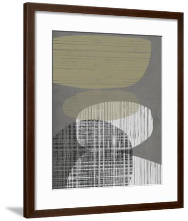 Resting Shapes III-Jennifer Goldberger-Framed Giclee Print