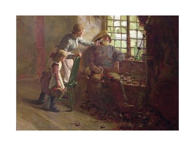 Resting-Edwin Harris-Giclee Print