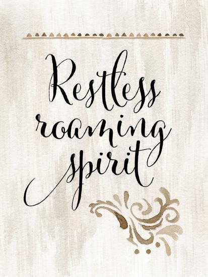 Restless Roaming Spirit-Tara Moss-Art Print