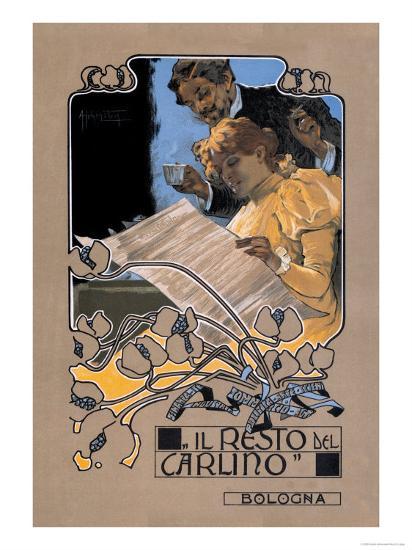 Resto de Carlino-Adolfo Hohenstein-Art Print