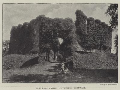 Restormel Castle, Lostwithiel, Cornwall--Giclee Print