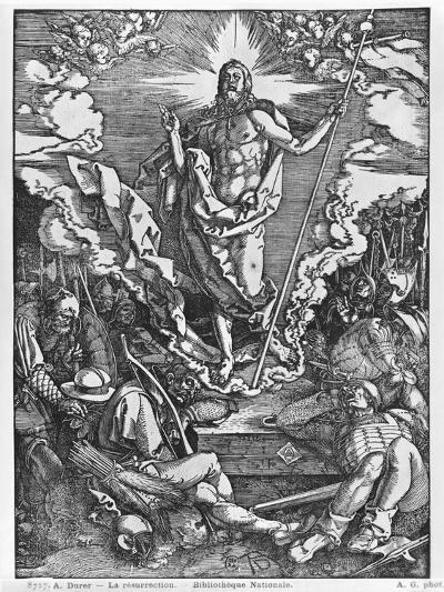 Resurrection, from 'The Great Passion' Series, 1510-Albrecht D?rer-Giclee Print