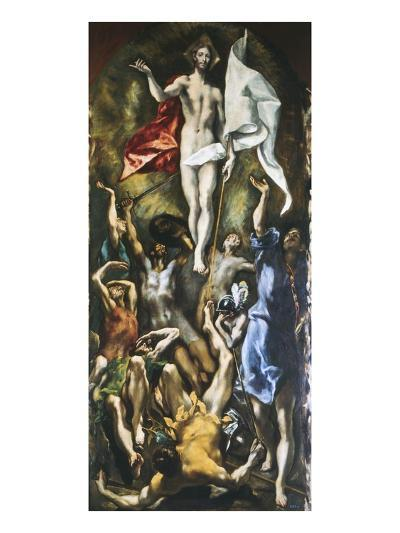 Resurrection of Christ, 1605-10-El Greco-Giclee Print