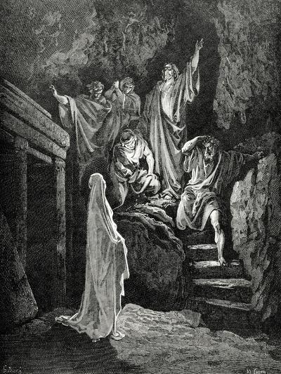 Resurrection of Lazarus--Giclee Print