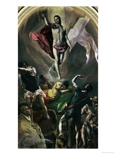 Resurrection-El Greco-Giclee Print