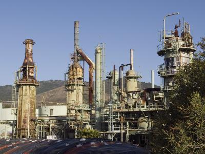 Retired Petrochem Refinery, Ventura, California-Rich Reid-Photographic Print