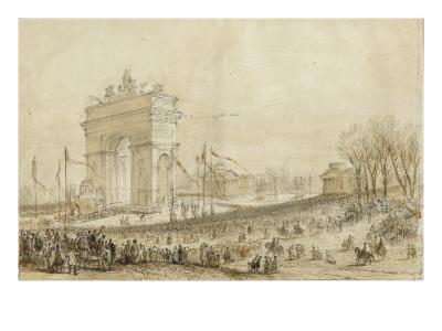 Retour des cendres de Napoléon Ier le 15 décembre 1840--Giclee Print