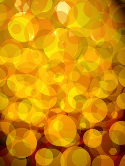 Retro Abstract Pattern of Bubbles--Photo