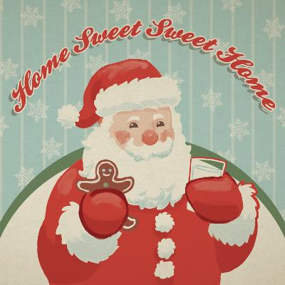 Retro Christmas X-Janelle Penner-Art Print