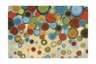 Retro Circles-Jeni Lee-Art Print