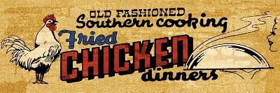 Retro Diner Chicken--Art Print