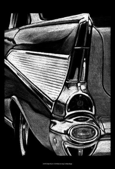 Retro Fins II-Ethan Harper-Art Print