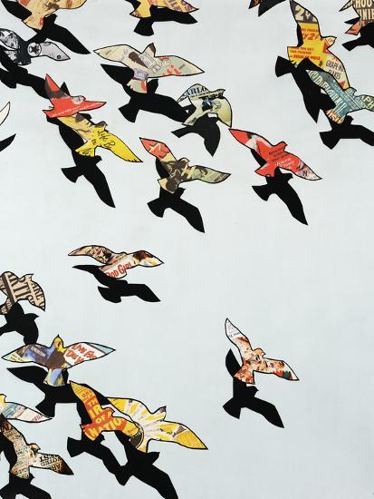 Retro Flight-Sydney Edmunds-Giclee Print