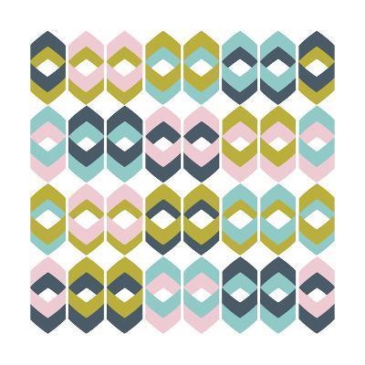Retro Groove I-Nicole Ketchum-Art Print