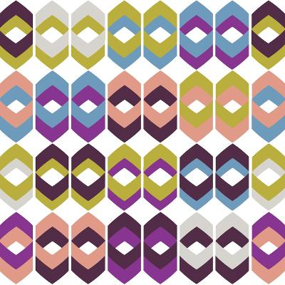 Retro Groove II-Nicole Ketchum-Art Print