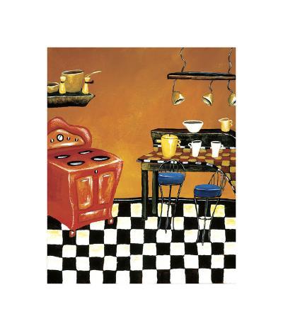 Retro Kitchen IV-Krista Sewell-Giclee Print