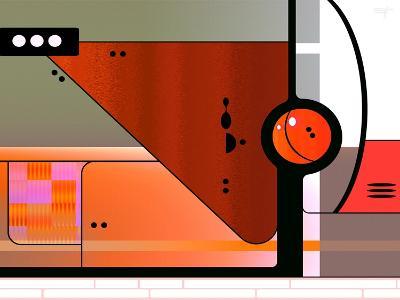 Retro Nouveau Background XLII-Fernando Palma-Giclee Print