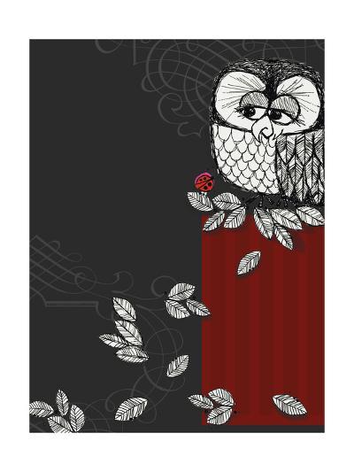 Retro Owl--Photo