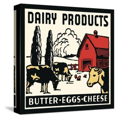 Dairy Products-Butter, Eggs, Cheese