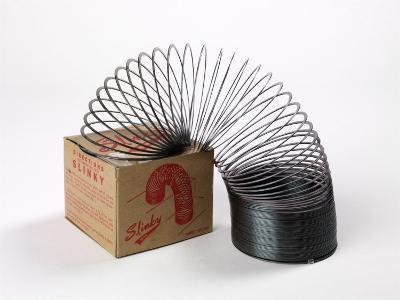 Retro Slinky Toy--Photographic Print