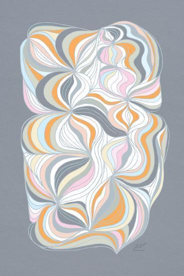 Retro Swirl-Dominique Vari-Art Print