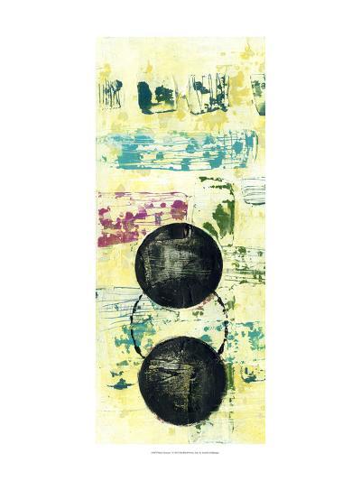 Retro Textures I-Jennifer Goldberger-Art Print