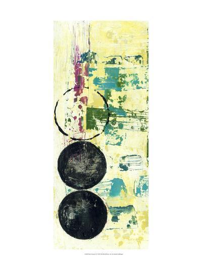 Retro Textures II-Jennifer Goldberger-Art Print