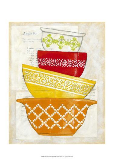 Retro Ware II-Chariklia Zarris-Art Print