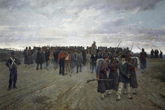 Return from Mentana-Onorato Carlandi-Giclee Print