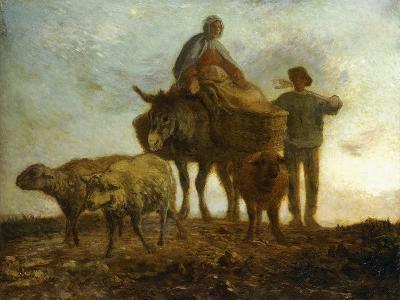 Return from the Fields-Jean-Fran?ois Millet-Giclee Print