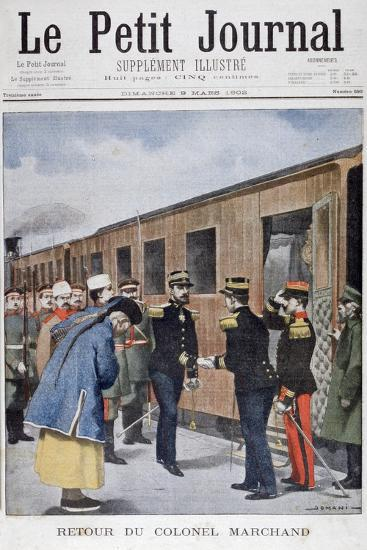 Return of Colonel Marchand to China, 1902--Giclee Print