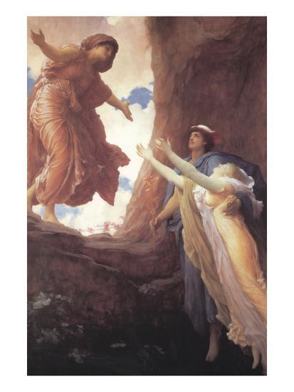 Return of Persephone-Frederick Leighton-Art Print