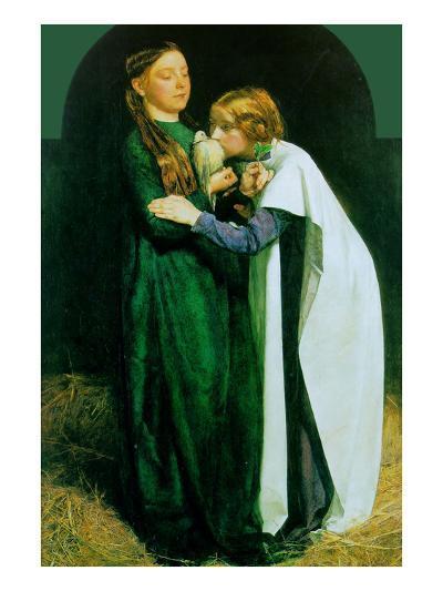 Return of the Dove to the Ark-John Everett Millais-Art Print