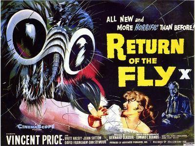 Return of the Fly, 1959--Art Print